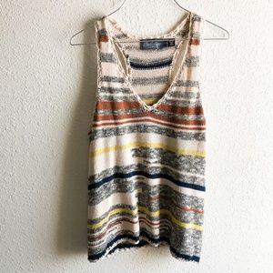 Costa Blanca Sweater Tank Size Small